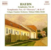 Haydn: Symphonies, Vol. 24 (Nos. 43, 46, 47) - CD