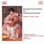Romantic French Music for Guitar and Orchestra - CD