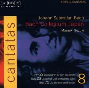 Bach Collegium Japan, Masaaki Suzuki: J.S. Bach: Cantatas, Vol. 8 (BWV 22, 23, 75) - CD