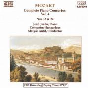 Jeno Jando: Mozart: Piano Concertos Nos. 23 and 24 - CD