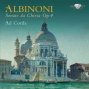 Ad Corda ensemble: Albinoni: Sonate da Chiesa Op. 4 - CD