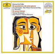 Boston Symphony Orchestra, García Navarro, London Symphony Orchestra, Seiji Ozawa, Teresa Berganza: De Falla: El Sombrero De Tres Picos, El Amor Brujo - CD