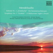 Çeşitli Sanatçılar: Mendelssohn: Symphony No. 3 / A Midsummer Night's Dream (Excerpts) - CD