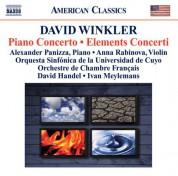 Çeşitli Sanatçılar: Winkler, D.: Piano Concerto / Elements Concerti - CD