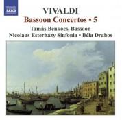 Tamas Benkocs: Vivaldi, A.: Bassoon Concertos (Complete), Vol. 5 - CD