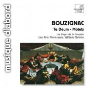 Les Arts Florissants, William Christie: Bouzignac: Te Deum & Motets - CD