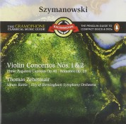 Silke Avenhaus, Thomas Zehetmair, City of Birmingham Symphony Orchestra, Sir Simon Rattle: Szymanowski: Violin Concertos No 1&2 - CD