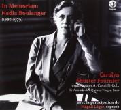Carolyn Shuster Fournier - In Memoriam Nadia Boulanger - CD