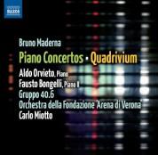 Aldo Orvieto: Maderna: Piano Concertos - Quadrivium - CD