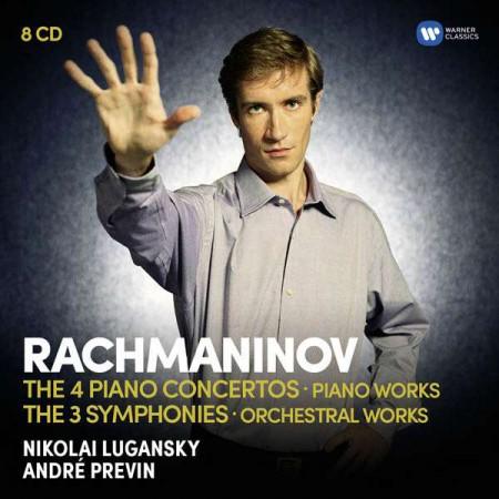 Nikolai Lugansky, André Previn: Rachmaninov: The Piano Concertos, The Symphonies - CD
