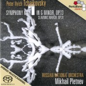Mikhail Pletnev, Russian National Orchestra: Tchaikovsky: Symphony No. 1in G minor, Op. 13 - SACD