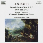 Wolfgang Rübsam: J.S. Bach: French Suites Nos.1, 2 - CD