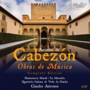Harmonices Mundi, La Moranda, Quartetto Italiano di Viole da Gamba, Claudio Astronio: Cabezon: Obras de Música - CD
