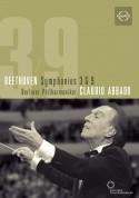 Karita Mattila, Thomas Moser, Eike Wilm Schulte, Violeta Urmana, Berliner Philharmoniker, Claudio Abbado: Beethoven: Symphonies 3 & 9 - DVD