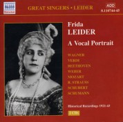 Leider, Frida: A Vocal Portrait (1921-1943) - CD