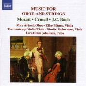 Mozart / Crusell / Bach, J.C.: Music for Oboe and Strings - CD