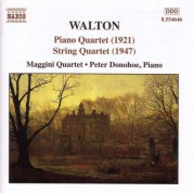 Walton: String Quartet / Piano Quartet - CD