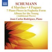 Juan Carlos Rodriguez: Schumann: 4 Marches - 4 Fugues - CD
