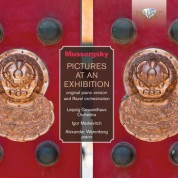 Gewandhausorchester Leipzig, Igor Markevitch, Alexander Warenberg: Mussorgsky: Pictures at an Exhibition for Orchestra & Solo Piano - CD