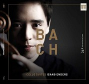 Isang Enders: J.S. Bach: Cello Suites (140907IE) - Plak