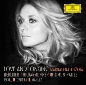 Magdalena Kožená, Berliner Philharmoniker, Sir Simon Rattle: Magdalena Kožená - Love And Longing - CD