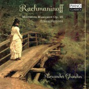 Alexander Ghindin: Moments Musicaux - CD