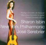 Sharon Isbin, José Serebrier, New York Philharmonic: Rodrigo: Concierto de Aranjuez, Villa-Lobos: Concerto for guitar, Ponce: Concierto del sur - CD
