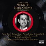 Peter Herman Adler: Menotti: Maria Golovin - CD