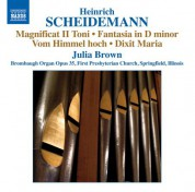 Julia Brown: Scheidemann: Organ Works, Vol. 7 - CD