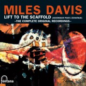 "Miles Davis: The Complete Recordings for the movie ""Lift to the Scaffold"" - Plak"