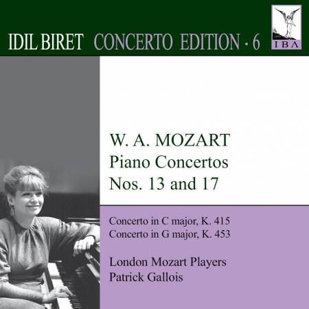İdil Biret: Mozart: Piano Concertos No. 13, 17 (Concerto Edition) - CD