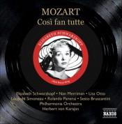Mozart: Cosi Fan Tutte (Schwarzkopf, Otto, Karajan) (1954) - CD
