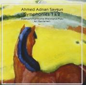 Staatsphilharmonie Rheinland-Pfalz, Ari Rasilainen: Ahmed Adnan Saygun - Symphonies 1 & 2 - CD