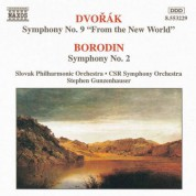 Dvorak: Symphony No. 9 / Borodin: Symphony No. 2 - CD