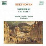Bela Drahos, Nicolaus Esterhazy Sinfonia: Beethoven: Symphonies Nos. 4 and 7 - CD