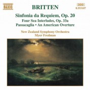 Britten: Sinfonia Da Requiem, Op. 20 / 4 Sea Interludes - CD
