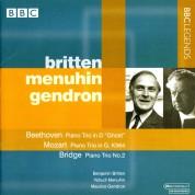 Benjamin Britten, Yehudi Menuhin, Maurice Gendron: Beethoven, Mozart, Bridge: Piano Trios - CD