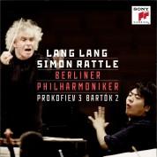 Sir Simon Rattle, Lang Lang: Prokofiev: Piano Concerto No. 3/Bartok: Piano Conc - Plak