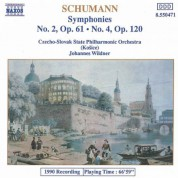 Schumann, R.: Symphonies Nos. 2 and 4 - CD