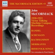 John McCormack: McCormak, John: McCormak Edition, Vol. 9: Victor Talking Machine Company Recordings (1920-1923) - CD