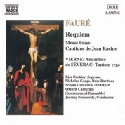 Oxford Schola Cantorum, Jeremy Summerly: Fauré: Requiem  / Messe Basse - CD