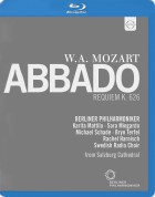 Rachel Harnisch, Karita Mattila, Sara Mingardo, Bryn Terfe, Berlin Philharmonic Orchestra, Claudio Abbado: Mozart: Requiem - BluRay