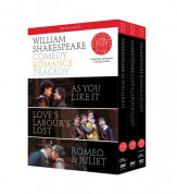 Shakespeare: Comedy, Romance, Tragedy (As You Like It; Love's Labour's Lost; Romeo & Juliet) - DVD