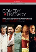 Comedy & Tragedy (Puccini: Gianni Schicchi; Donizetti: L'elisir d'amore; Verdi: Falstaff; Bizet: Carmen; Rachmaninov: The Miserly Knight) - DVD
