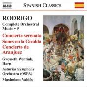 Gwyneth Wentink: Rodrigo: Concierto Serenata / Concierto De Aranjuez (Complete Orchestral Works, Vol. 9) - CD