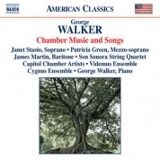 Çeşitli Sanatçılar: Walker: Chamber Music and Songs - CD