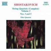 Shostakovich: String Quartets Nos. 3 and 5 - CD