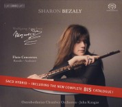 Sharon Bezaly: Mozart - Flute Concertos (Cadenzas by Kalevi Aho) and BIS Complete Catalogue 2005 - SACD