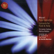 James Galway, Marisa Robles, Sir Neville Marriner, Academy of St. Martin in the Fields: Mozart: Flute Concertos Nos. 1 & 2 / Concerto for Flute & Harp, K. 299, 313, 314 - CD