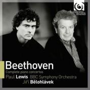 Paul Lewis, Jiří Bĕlohlávek: Beethoven: Complete Piano Concertos - CD